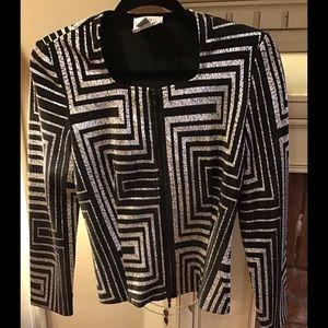 JOSEPH RIBKOFF Evening Jacket Size 4